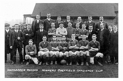 pt5898 - Doncaster Rovers Football Team - photo 6x4