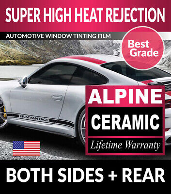 Super High Heat Rejection Precut Window Tint For Cadillac Elr Coupe 14-16