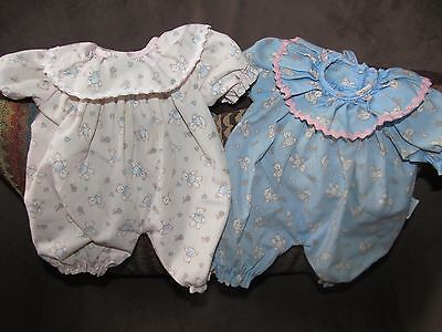 "Authentic 1996 Mattel 12"" Snookums Baby Doll Outfit Lot"
