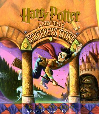 Harry Potter and the Sorcerer's Stone Year 1 by J. K. Rowling (1999, CD,...