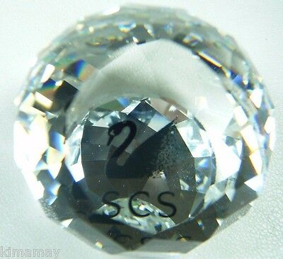 SWAROVSKI COLLECTOR SOCIETY FACETED CRYSTAL SWAN PAPERWEIGHT SCS