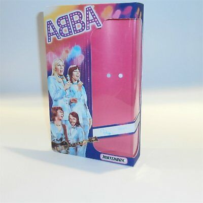 Matchbox Abba Doll Bjorn Reproduction Box