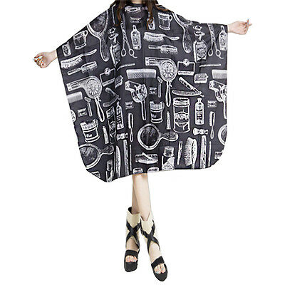 New Adult Salon Barbers Hairdresser Hair Cutting Cape Gown Hairdressing Clothes