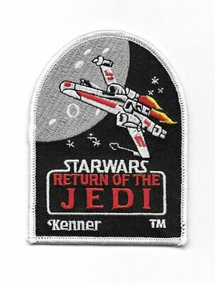 Star Wars: Return of the Jedi Logo Kenner Toys Version Embroidered Patch UNUSED