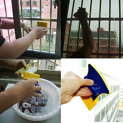 Double-sided Window Glass Cleaner Glider Cleaning Tool Magnetic Squeegee