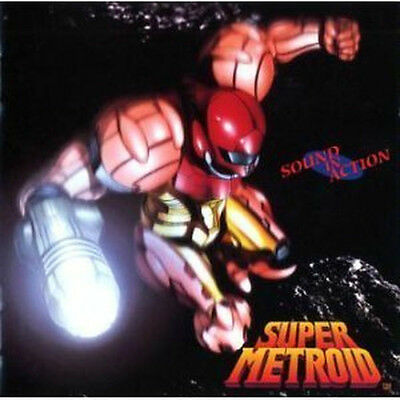 SUPER METROID Music Soundtrack CD SOUND IN ACTION