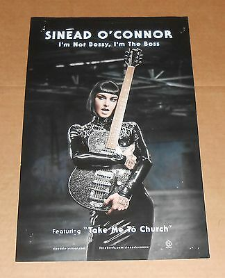 Sinead O'Conner I'm Not Bossy Original Promo Poster 11x17