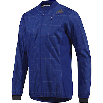 Adidas SMT Mens Running Jacket - Blue