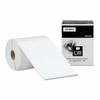 """DYMO LabelWriter Shipping Labels, White, 4"""" x 6"""", 220 per pack, New"""