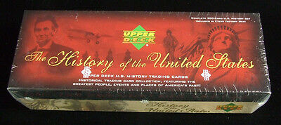 2004 Upper Deck The History of the United States Factory Set (300-cards)