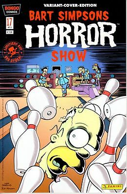 BART SIMPSONS HORROR SHOW # 17 VARIANT - 999 Ex. - COMIC ACTION 20013 - TOP
