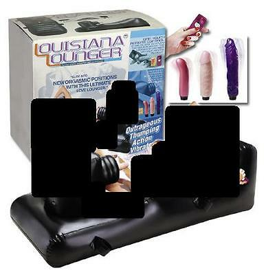 Sex Toy Love Machine Lit Divan Vibro X 3 Lounger Sextoy