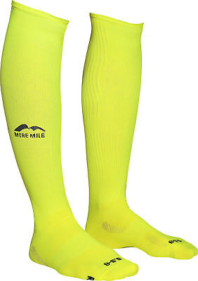 More Mile California Compression Sports Performance Recovery Socks Yellow