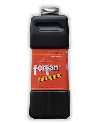 Fertan Trattamento Convertitore Antiruggine (1000 Ml) Rust Remover Converter 1Lt