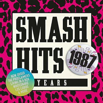 VARIOUS ARTISTS - SMASH HITS YEARS...1987: CD ALBUM (April 13th 2015)