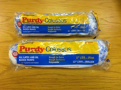 "2 x 12"" Purdy Colossus Long Pile Paint Roller Sleeves"