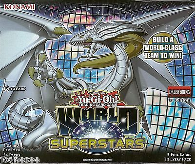 World Superstars WSUP Secret Rare Yu-Gi-Oh Cards 1st Edition Take Your Pick Mint