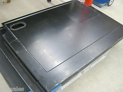 "BLACK LABORATORY COUNTER TOP SLATE/MARBLE COMPOSITE 55-3/8"" x 40½"" x 1¼""-TO 7/8"""