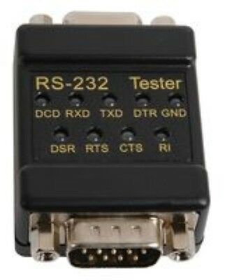 Cable Tester Rs232 / Db9 Link GSMPN: 72-9265 TENMA