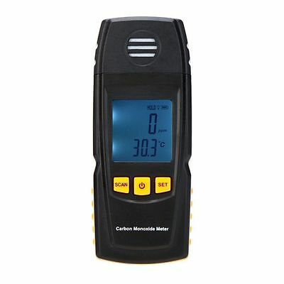 Handheld Carbon Monoxide Meter w/ High Precision CO Gas Tester Monitor Detector