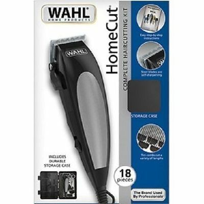 WAHL Trimmers Pro Complete Hair Cutting Kit Clippers Electric Shaver Men Beard