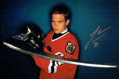 Josh UNICE Chicago Blackhawks Ice Hockey Signed Autograph Photo AFTAL COA
