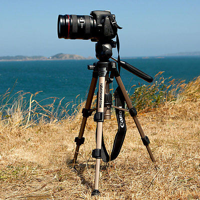7dayshop Tripod Fully Featured Table Top Mini / Midi Photo Tripod with FREE Case