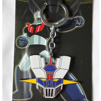 New Mazinger Z Head Portrait Mask Logo 5cm Metal Key chain ring Gifts Hot