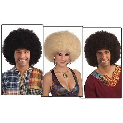 Deluxe Afro Wig Adult 70s Disco Diva Halloween Costume Accessory Fancy Dress