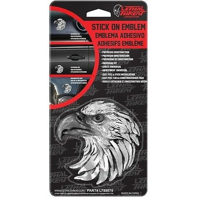 LETHAL THREAT STICK-ON EMBLEMS-EAGLE LT88675 X8413