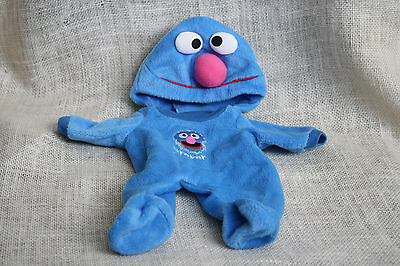 Lauer Water Baby Doll Sesame Street Grover Hoody Pajama Costume Clothes