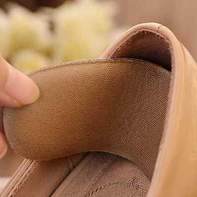 5Pairs Wholesale Fabric Shoe Pads Cushion Liner Grips Back Heel Inserts Insoles