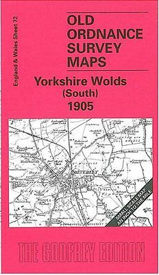 Old Ordnance Survey Map Yorkshire Wolds South)1905