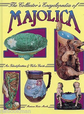 Antique Majolica Pottery Photos - Identification Marks Patterns / Book + Values