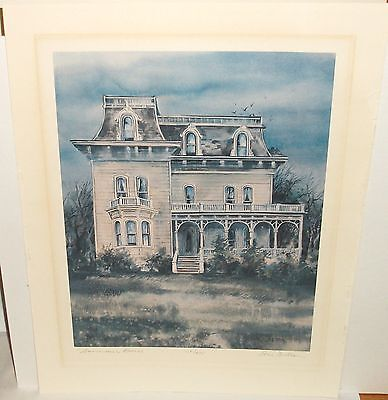 """Tom Brittain """"Summer House"""" Limited Edition Hand Signed Lithograph"""