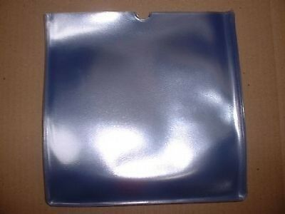 "10 x 10""/78's 600g Vinyl PVC Protection Covers/Sleeves GLASS CLEAR FINISH ONLY"