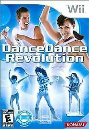 Dance Dance Revolution  (Nintendo Wii, 2010) GAME ONLY