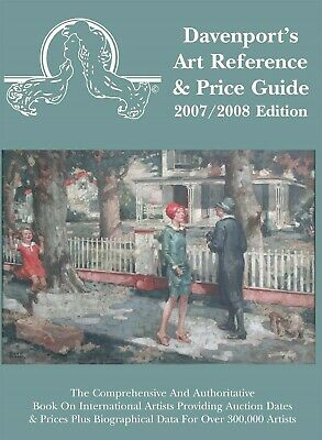 2007 - 2008 Davenport's Art Reference & Price Guide, New, Unopened, Book