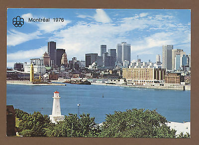 Orig.postcard  Olympic Games MONTREAL 1976 - C // with postage stamps and stamps