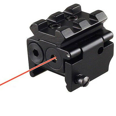 Tactical Red Dot Sight Laser amovible Rail Picatinny 20mm Pour Pistol