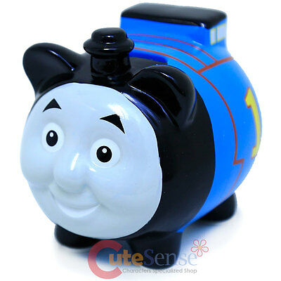 Thomas the Tank Engine Piggy Thomas Ceramic Coin Bank Figurine Piggy Bank