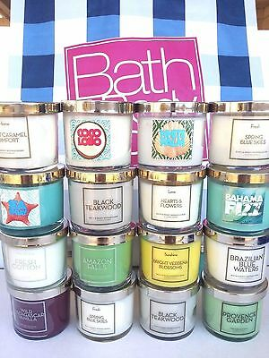 Bath and Body Works 1 Wick Candle 4 oz / 113 g - U Choose!