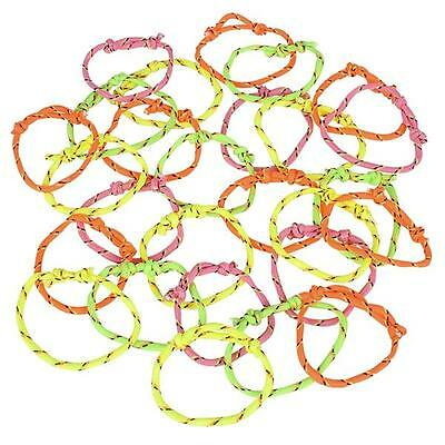 PINATAS 288  NEON FRIENDSHIP RINGS REDEMPTION GOODY BAG PARTY FAVOR VENDING
