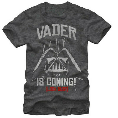 outlet store 0ddfb 57caa Star Wars (Darth) Vader is Coming! (Look Busy) Image T-