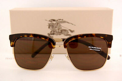 752569110ba5 Brand New Burberry Sunglasses BE 4154Q 3002 73 Havana Gold Brown Lenses for  Men