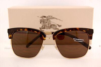 655e9db3522 Brand New Burberry Sunglasses BE 4154Q 3002 73 Havana Gold Brown Lenses for  Men