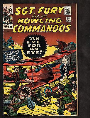 Sgt Fury and His Howling Commandos #19 ~  Eye for and Eye (5.5/6/0) WH