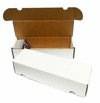 (12) 500 / 550 COUNT BASEBALL TRADING CARD MAX PRO CARDBOARD STORAGE BOXES zx