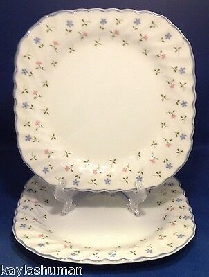 Johnson Brothers Melody Salad Plates Square Set of 2