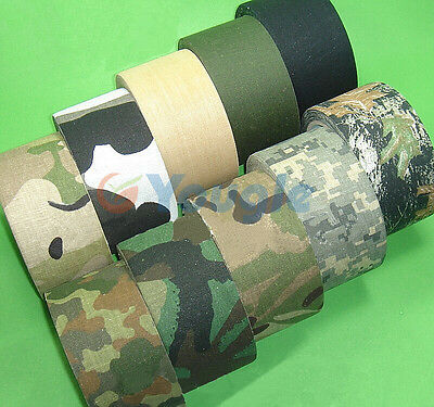 Outdoor Camouflage Wrap Rifle Gun Hunting Waterproof Camo Stealth Duct Tape AL